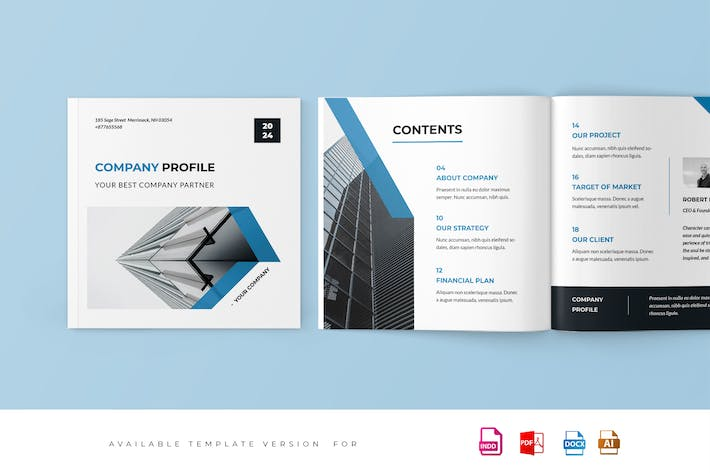 Thumbnail for Square Project Proposal Template
