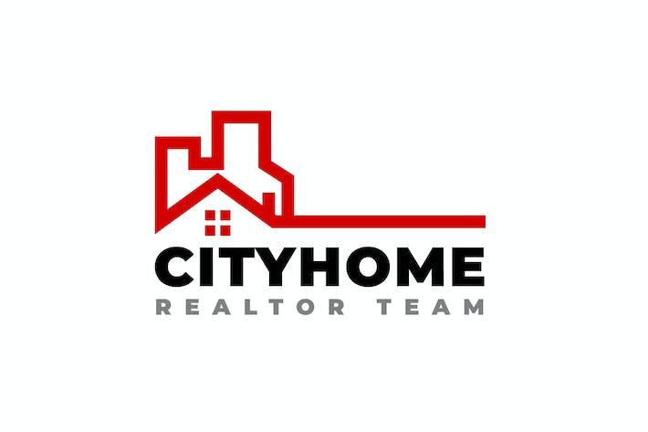 Thumbnail for Городской дом Риэлтор - Логотип недвижимости