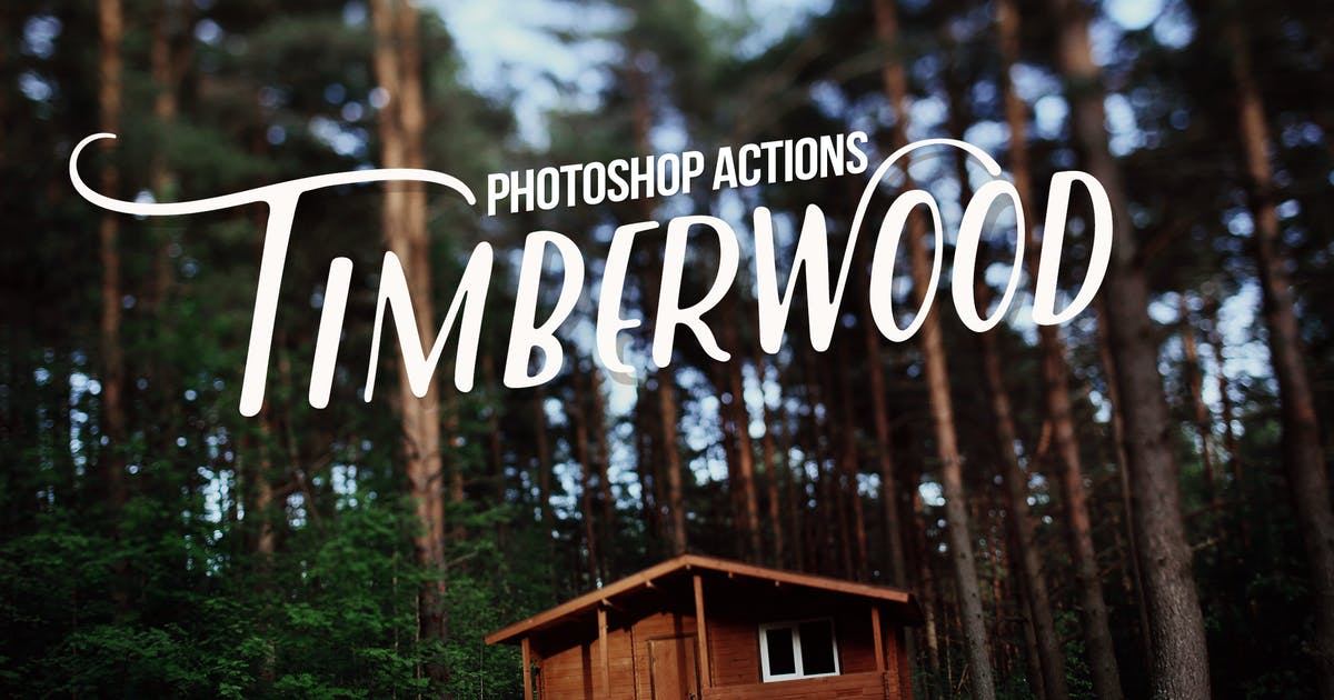 Download Timberwood Authentic Actions by Presetrain