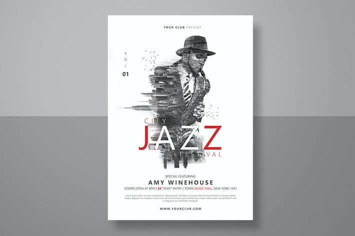 Thumbnail for Jazz Festival Flyer