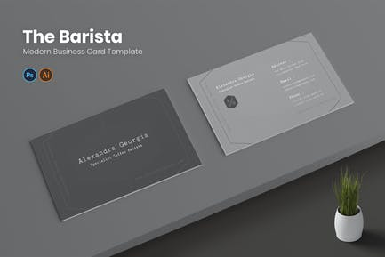 Barista Business Card