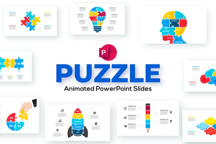 Puzzle Animated PowerPoint Presentation