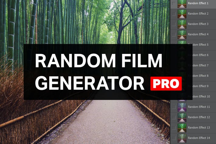 Thumbnail for Random Film Generator Pro