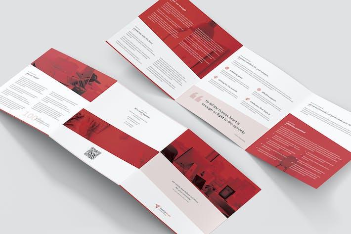 Thumbnail for Brochure – StartUp Tri-Fold Square