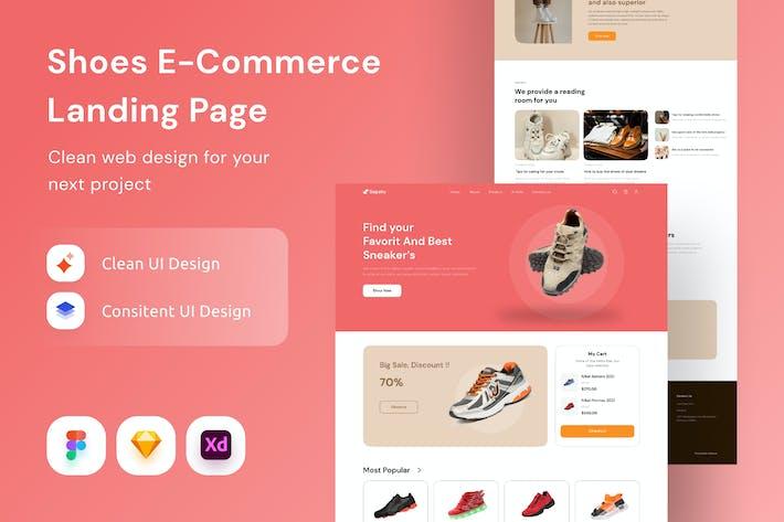 Shoes E-Commerce Landing Page