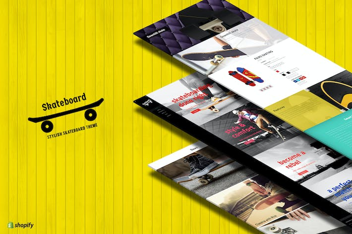 Thumbnail for Skate board - Fullscreen Sports Shopify Theme