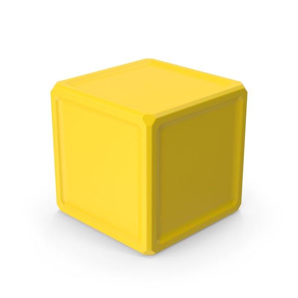 Куб Желтый