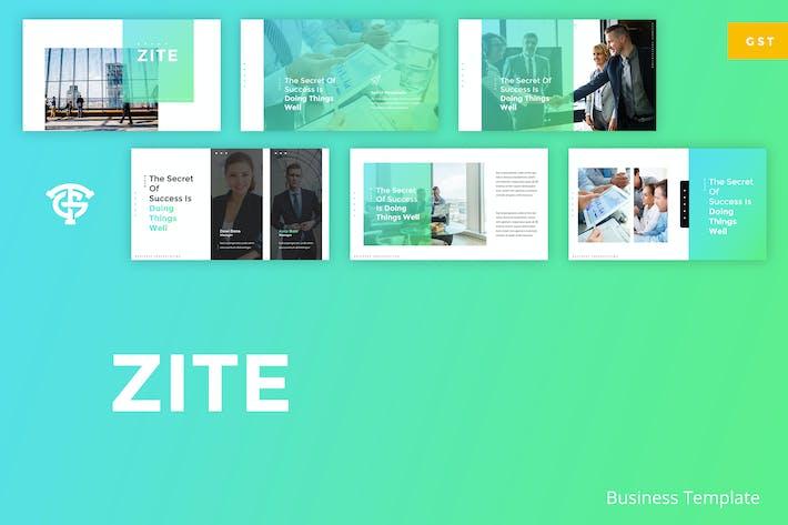Thumbnail for Zite Business - Google Slides