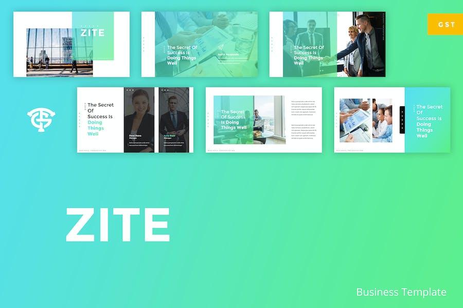 Zite Business - Google Slides