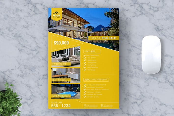 Thumbnail for Real Estate Flyer Vol #03