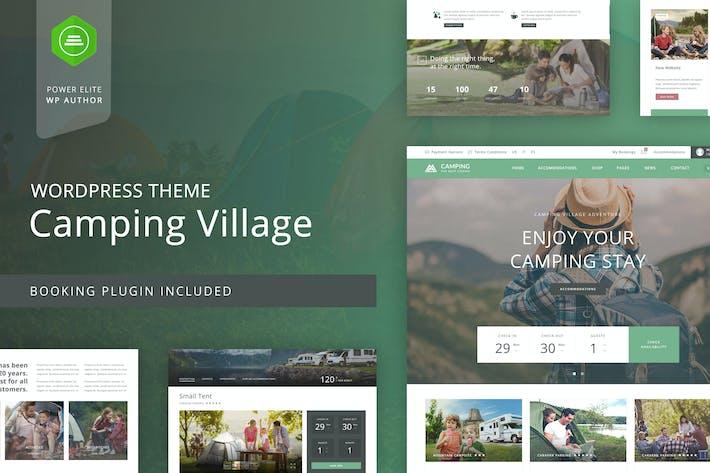 Thumbnail for Camping WordPress Theme
