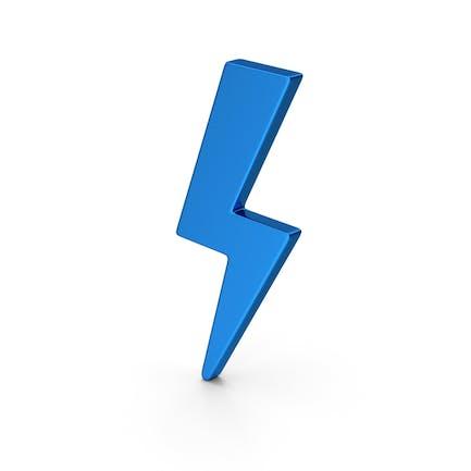 Symbol Storm azul metálico