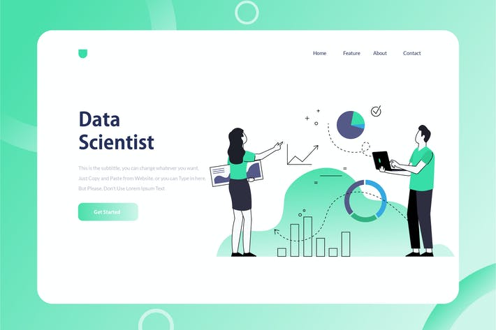 Thumbnail for Data Scientist Onboarding Illustration