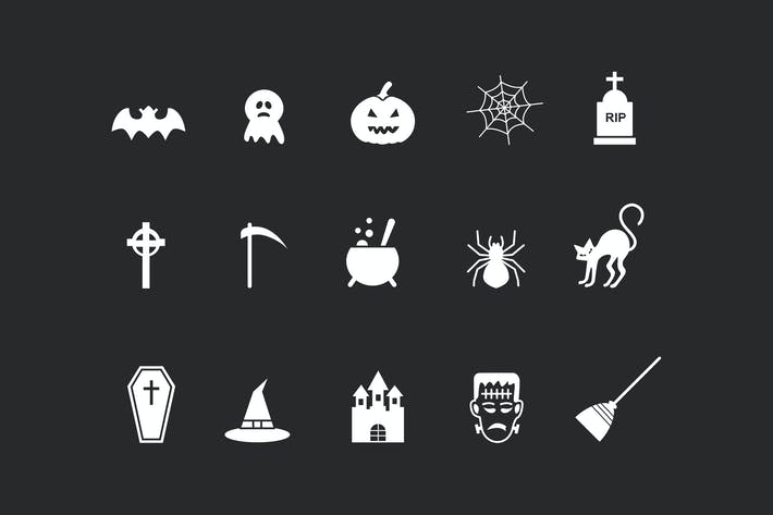 Thumbnail for 15 Spooky Halloween Icons