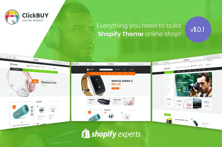 Thumbnail for ClickBuy | Multi Store Responsive Shopify Theme