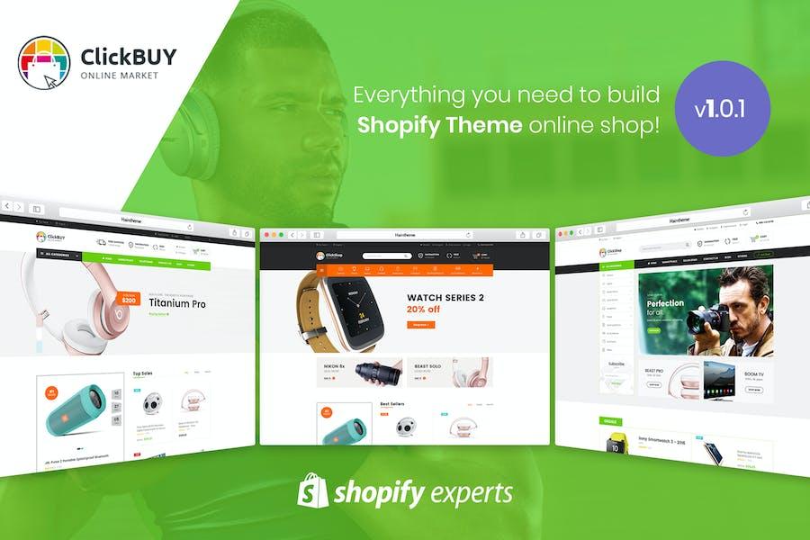 ClickBuy | Multi Store Responsive Shopify Theme