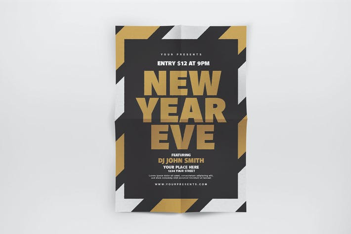 Thumbnail for New Year Eve Flyer