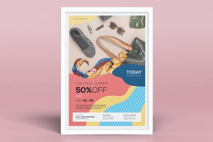 Colorful Product Promotion Flyers