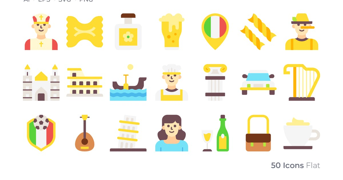 Download Italy Color Icon by GoodWare_Std