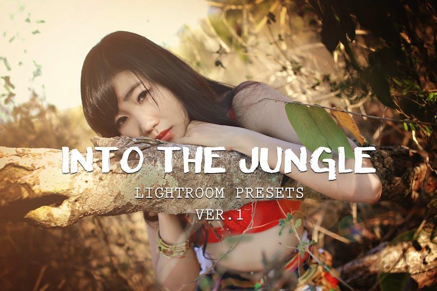 10 пресетов в джунглях Lightroom