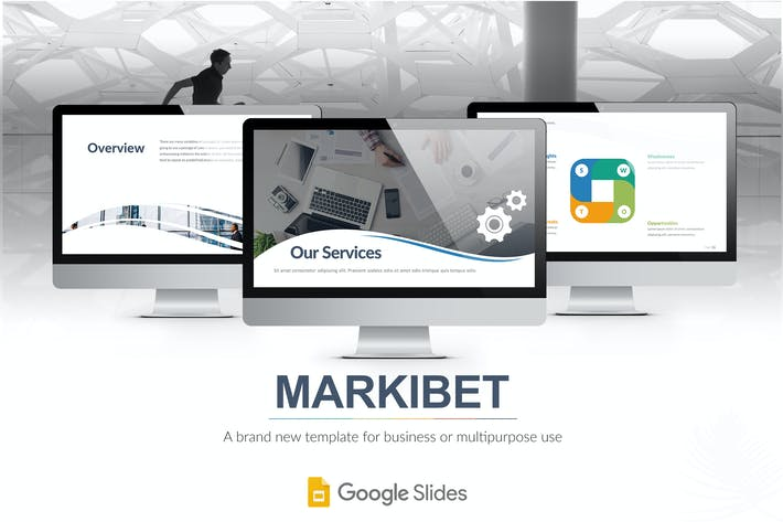 Thumbnail for Markibet - Google Slides Template