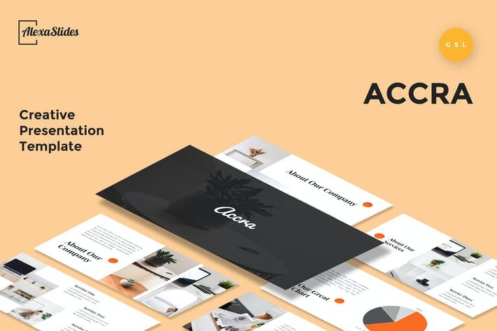 Cover Image For Accra - Creative Google Slides Presentation