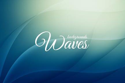 Abstrakte Wellen Hintergründe