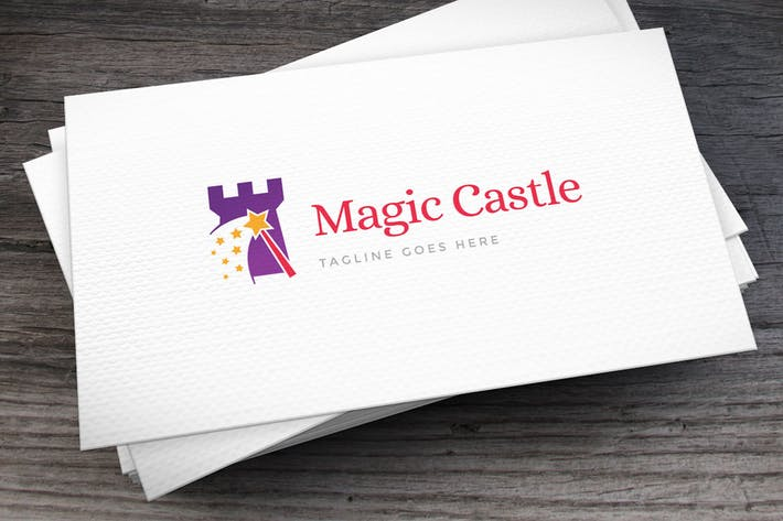 Magic Castle Logo Template
