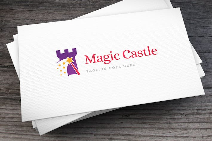 Thumbnail for Magic Castle Logo Template