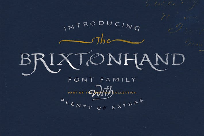 Thumbnail for Brixton Hand Family
