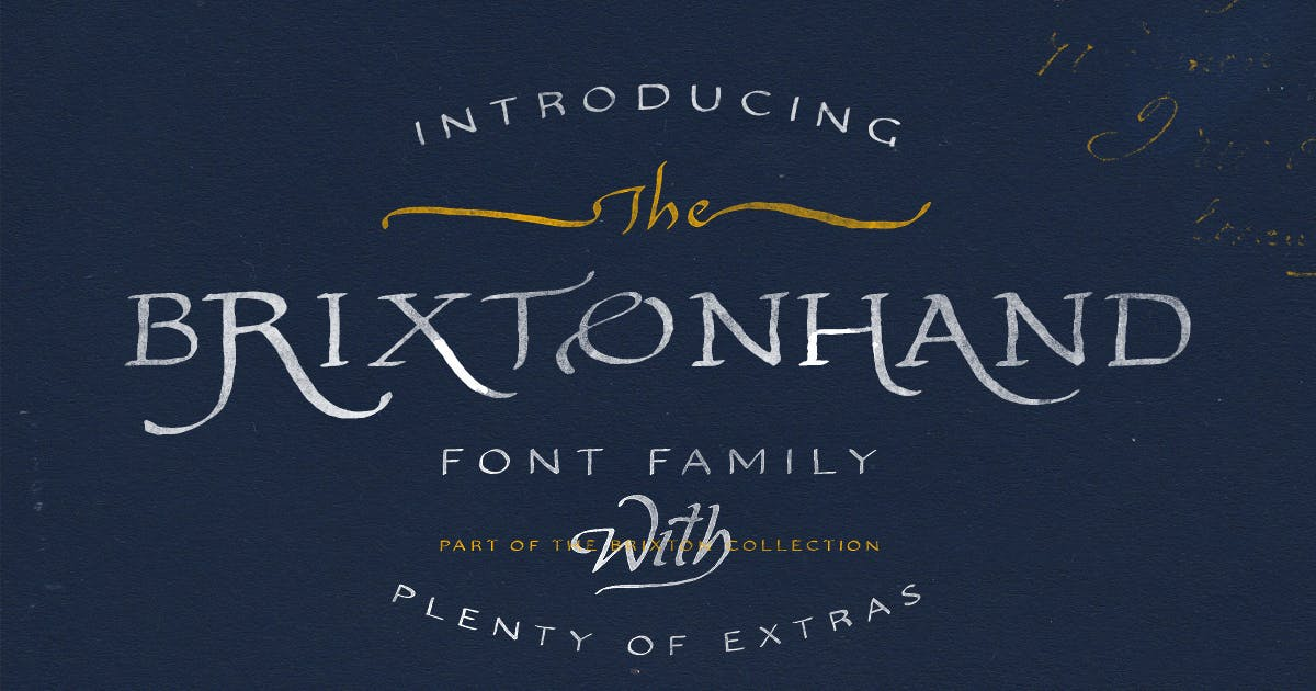 Download Brixton Hand Family by tomchalkys
