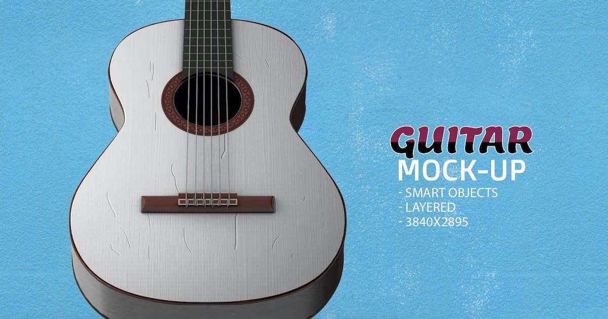 Download Guitar Face PSD Mock-up by Abdelrahman_El-masry