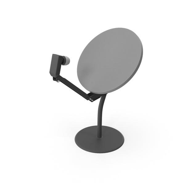 Dachterrasse Satellitenschüssel