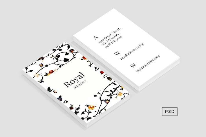 Thumbnail for Шаблон ElysianВизитная карточка