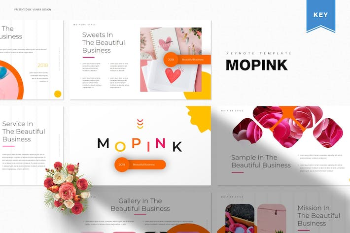 Thumbnail for Mopink | Keynote Template