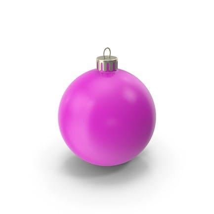 Рождественский орнамент розовый