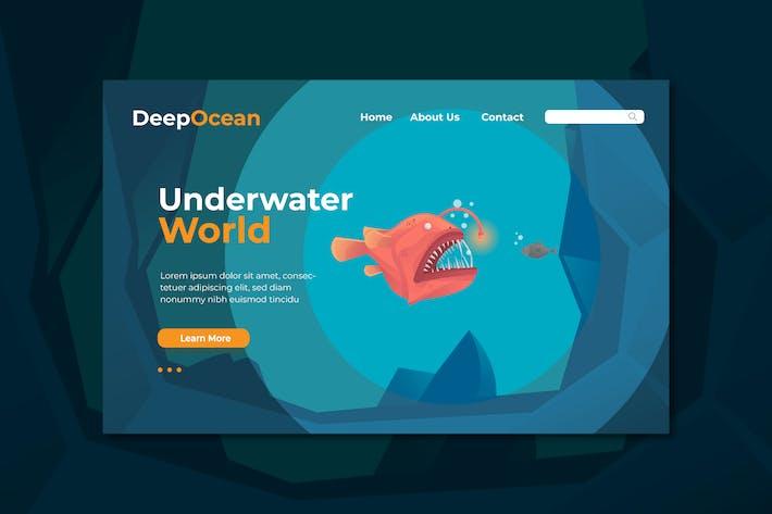 Thumbnail for Иллюстрация страницы «Подводный мир»