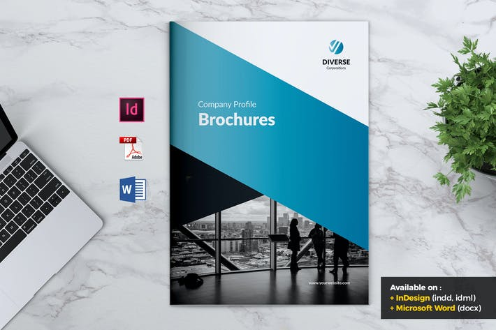 Thumbnail for DIVERSE Professional Company Profile Brochures