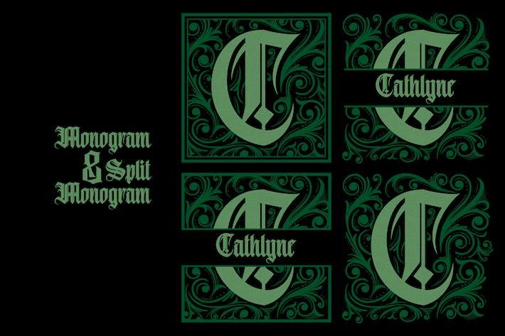 Thumbnail for Monogram C