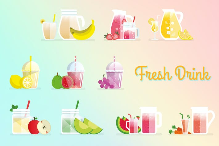 Cover Image For Fresh Drink