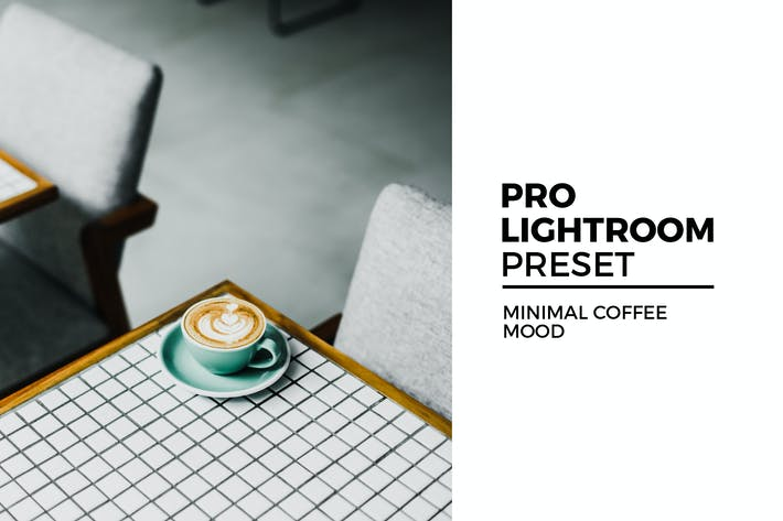 Thumbnail for Minimal Coffee Mood Lightroom Preset