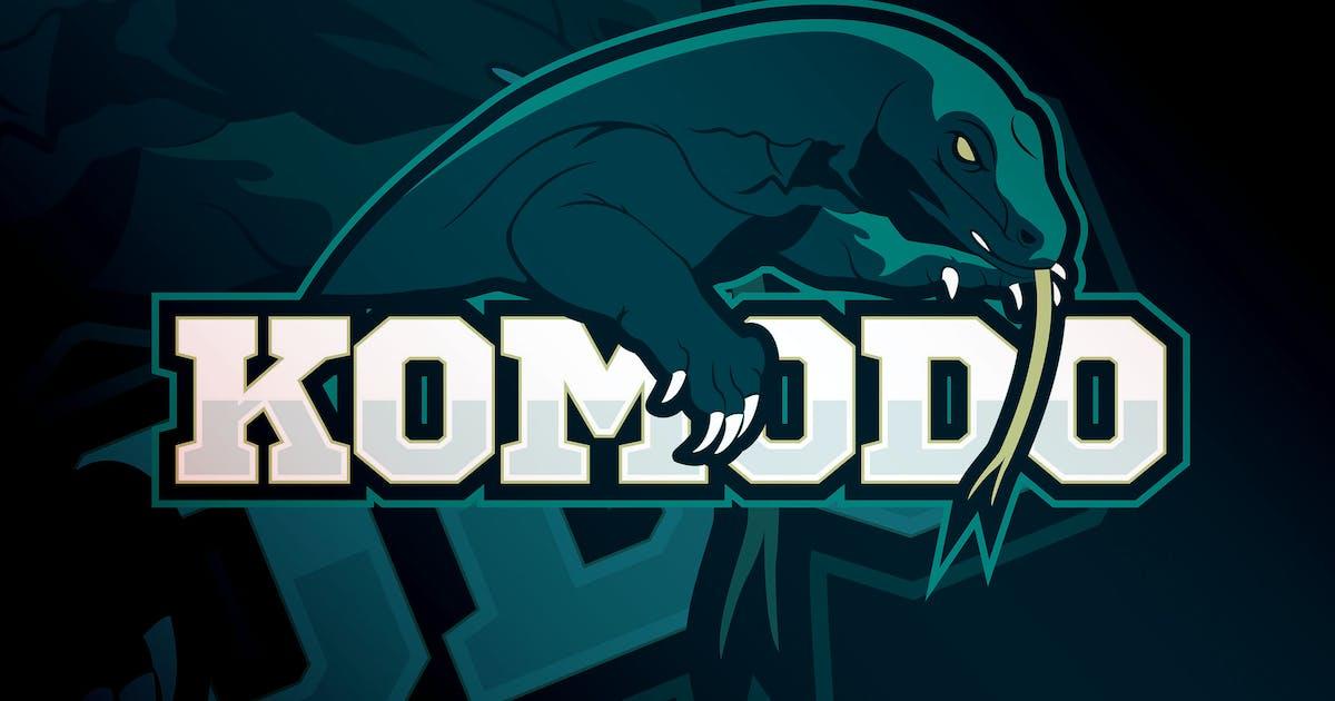 Download Komodo -Mascot & eSport Logo Template RB by Rometheme