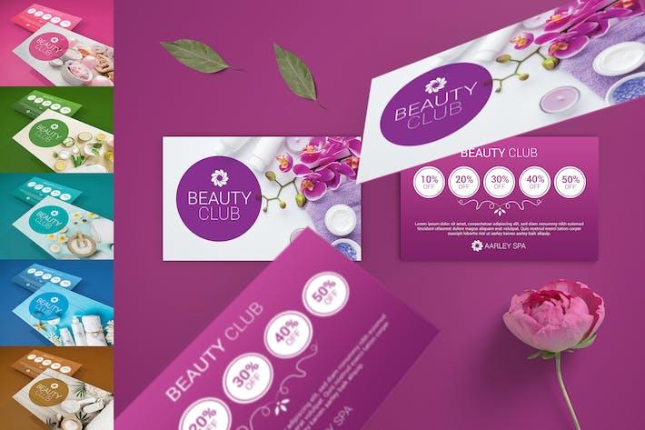 Beauty Club Cards