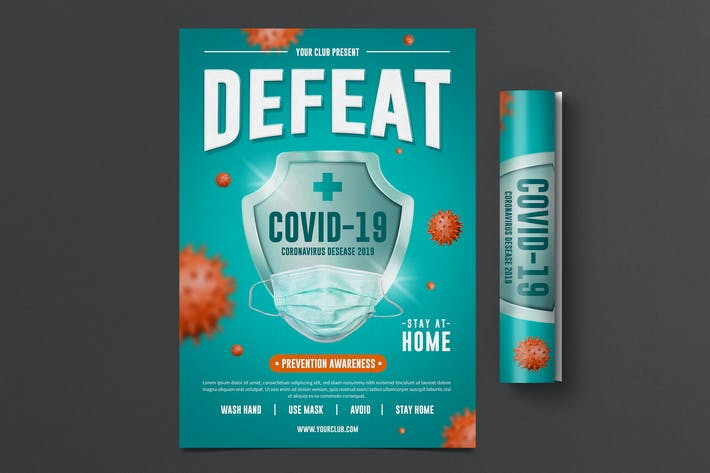 Thumbnail for Corona Prevent Flyer