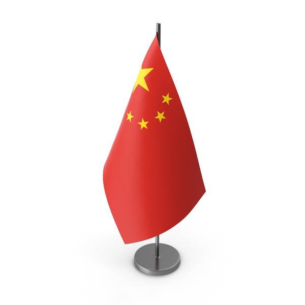 Настольный флаг Китай