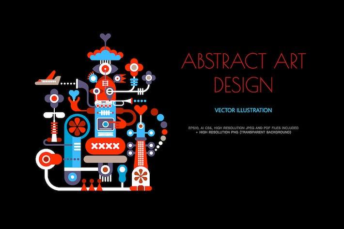 Thumbnail for Arte Resumen Diseño Vector