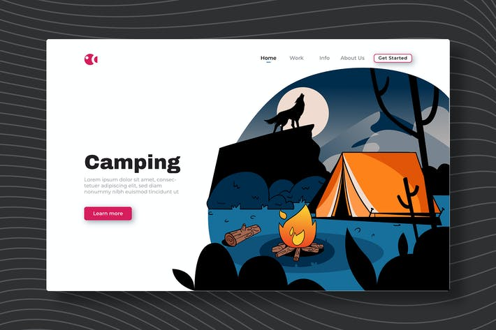 Thumbnail for Camping - landing Page
