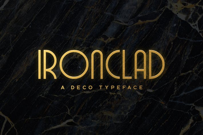 Thumbnail for Ironclad Typeface