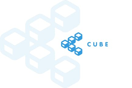 Куб - Логотип буквы C