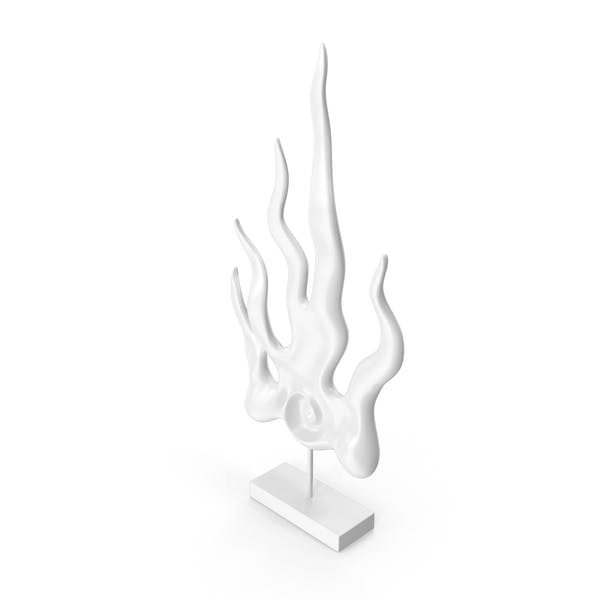 Cold Flame Figurine